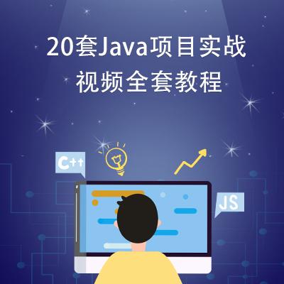 20套Java项目实战视频全套教程