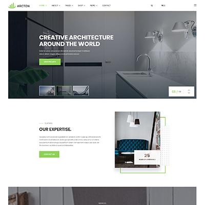 HTML5响应式室内建筑设计公司官网模板