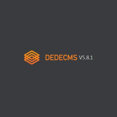 DedeCMS V5.8.1 beta 内测版下载