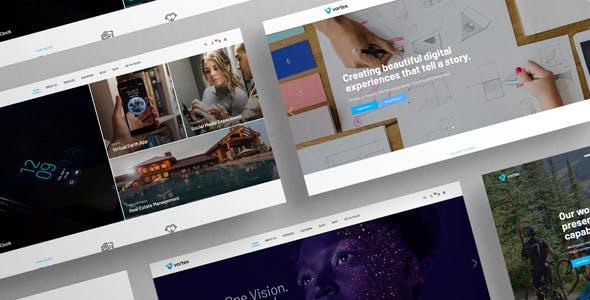创意HTML5数码工作室网站模板